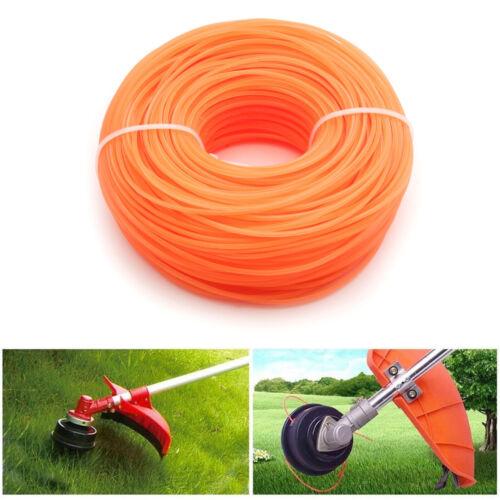 90M orange Mähfaden Trimmerfaden Trimmerschnur für Rasentrimmer Motorsense 1,6mm