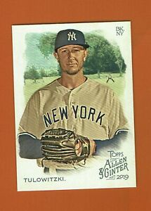 2019-Topps-Allen-amp-Ginter-Troy-Tulowitzki-265-New-York-Yankees