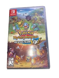 POKEMON-MYSTERY-DUNGEON-RESCUE-TEAM-DX-NINTENDO-SWITCH-USED-without-pamphlet