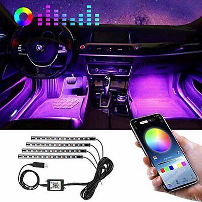 Best And New Winzwon Car Led Lights Interior 4 Pcs 48 Led Strip Light for Car 1