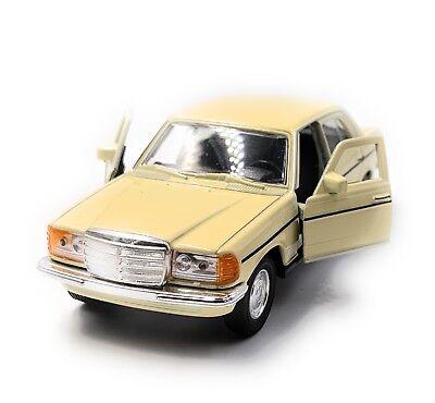 lizensiert Onlineworld2013 E-Klasse W123 Silber Modellauto Auto Ma/ßstab 1:34