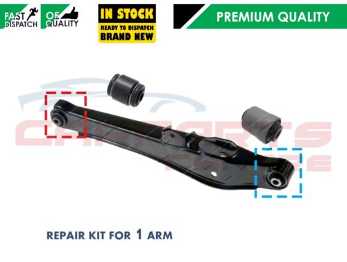 FOR JEEP COMPASS PATRIOT REAR LOWER SUSPENSION WISHBONE CONTROL ARM BUSHES ONLY