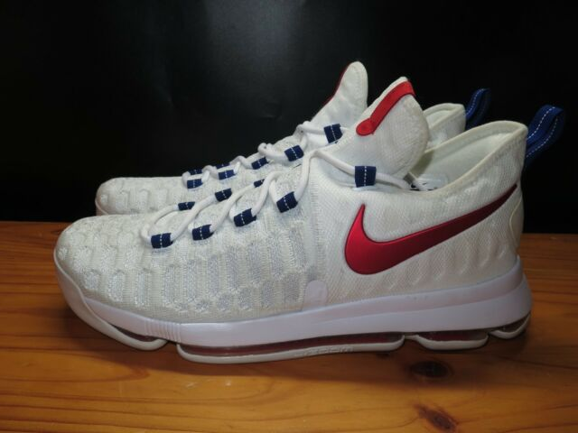 huge discount 4f4eb 5a09a Nike Zoom KD 9 USA Sz 9.5 100 Authentic Independence Day Kd9 IX 843392 160