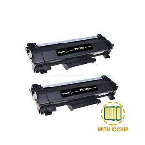2PK-TN760-High-Yield-Toner-With-Chip-fit-For-Brother-DCP-L2550-HL-L2350-TN730