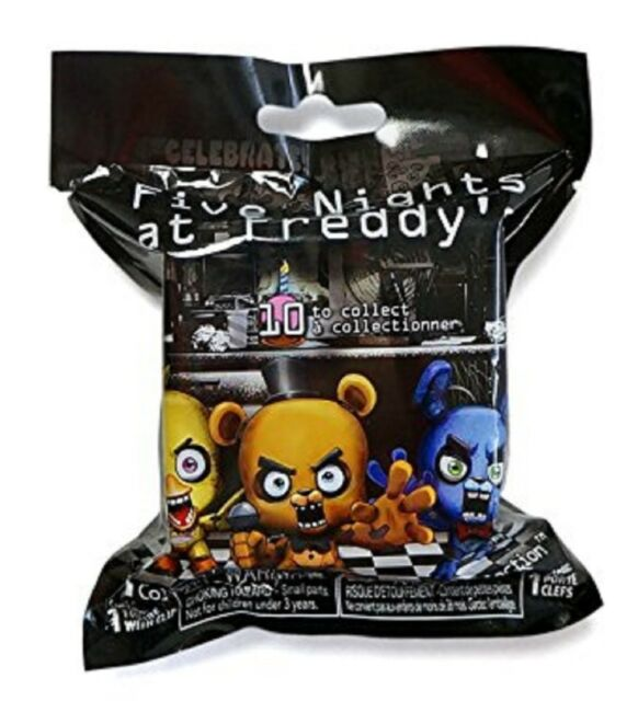 FIVE NIGHTS AT FREDDY/'S BACKPACK HANGER SISTER LOCATION LOOSE FIGURE CIRCUS B
