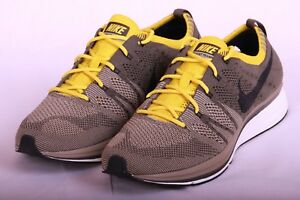 new product 1088a d9f1c Image is loading Nike-Flyknit-Trainer-Men-Running-Shoes-Cargo-Khaki-