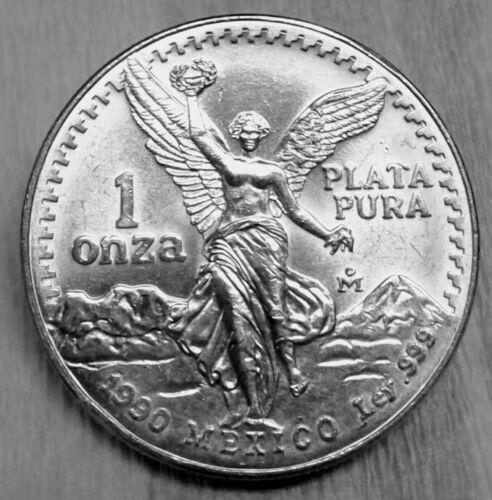 1990 Mexico Silver Libertad 1 oz