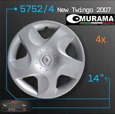 4 Original MURAMA 5752/4 Radkappen für 14 Zoll Felgen RENAULT NEW TWINGO 2007