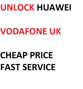 Details about UNLOCK CODE For Vodafone UK Huawei P Smart 2019 2018  VODAPHONE VODA UK