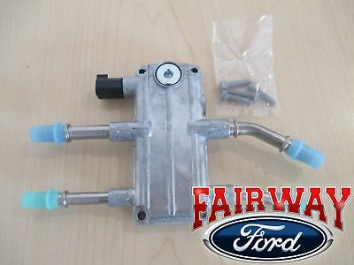 04 thru 07 Super Duty OEM Ford 6.0 Diesel Water Fuel Manifold HFCM with Harness