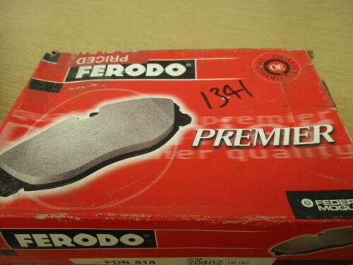 Ferodo brake padset,fdb818,saab 99,75-77,900,79-87,rrp£30 fast post