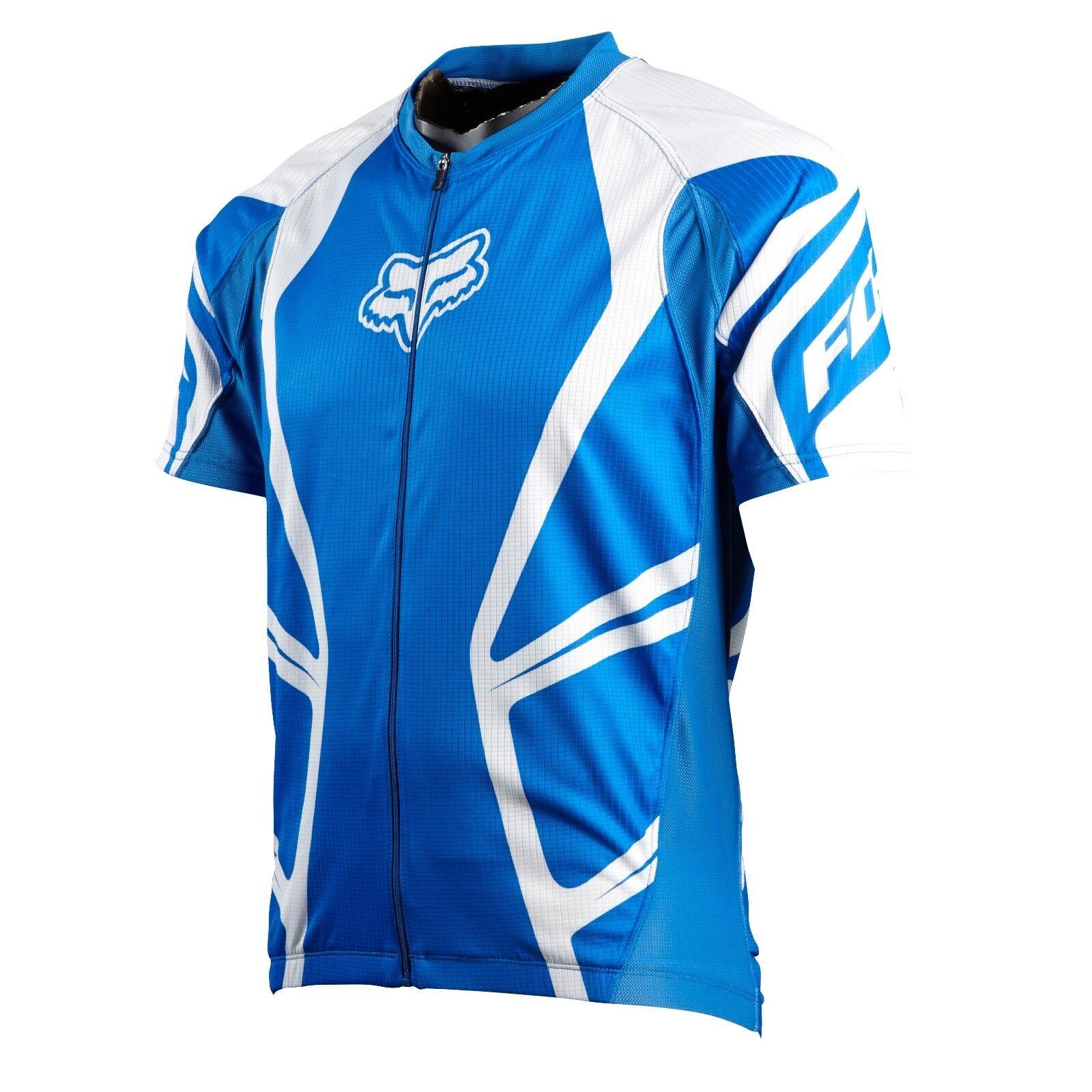 Fox Racing Race Jersey Jersey blu, Medium  vendite dirette della fabbrica
