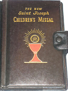 1977-Vintage-New-Saint-Joseph-Children-039-s-Missal-protective-cover-color-pictures