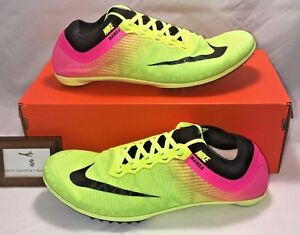 NIKE MENS SIZE 11.5 MAMBA TRACK & FIELD SHOES WITH SPIKES RIO OLYMPICS RARE NEW