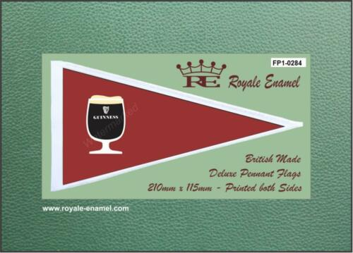 Royale Antenna Pennant Flag FP1.0284 GUINESS ALE GLASS
