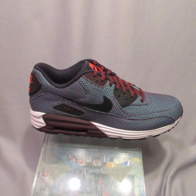 Buy Nike Air Max Lunar 90 PRM QS Size 12 Nike 705068 600 Herringbone HYPER  Jade BLK online  2c9899b4e