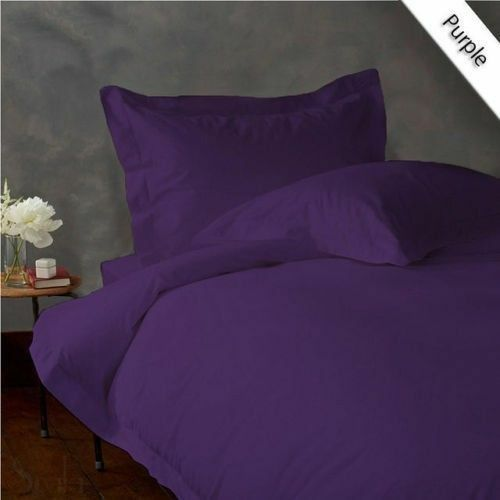 Comfort Bedding Items All US Size Purple Solid Stripe 1000TC Egyptian Cotton