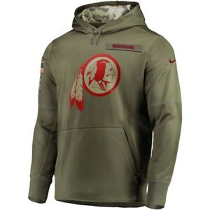 newest 66353 91dee Details about WASHINGTON REDSKINS Salute to Service Hoodie Nike 2018 - MENS  M - 100% AUTHENTIC