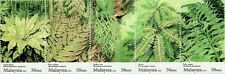 Fern Of Malaysia 2010 Flower Plant Flora (stamp in strip) MNH