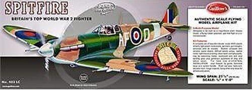 Guillow Spitfire Balsa Aircraft Kit (G403)