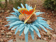 Polymer Fimo Clay OOAK Miniature Handmade Decorated Baby Butterfly Shower Gift 1
