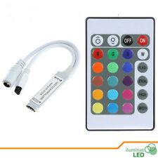DC12V 24 Keys IR Remote Controller  + Control For SMD5050 SMD3528 RGB LED Strip