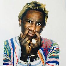 Young Thug Rapper Artist poster wall decoration photo print 24x24 inches