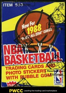 1988 Fleer Basketball Sealed Wax Box, 36ct Wax Packs, Pippen ROOKIE? BBCE AUTH