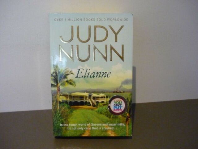 JUDY NUNN NOVEL - ELIANNE - COMBINE POSTAGE & CUT COSTS