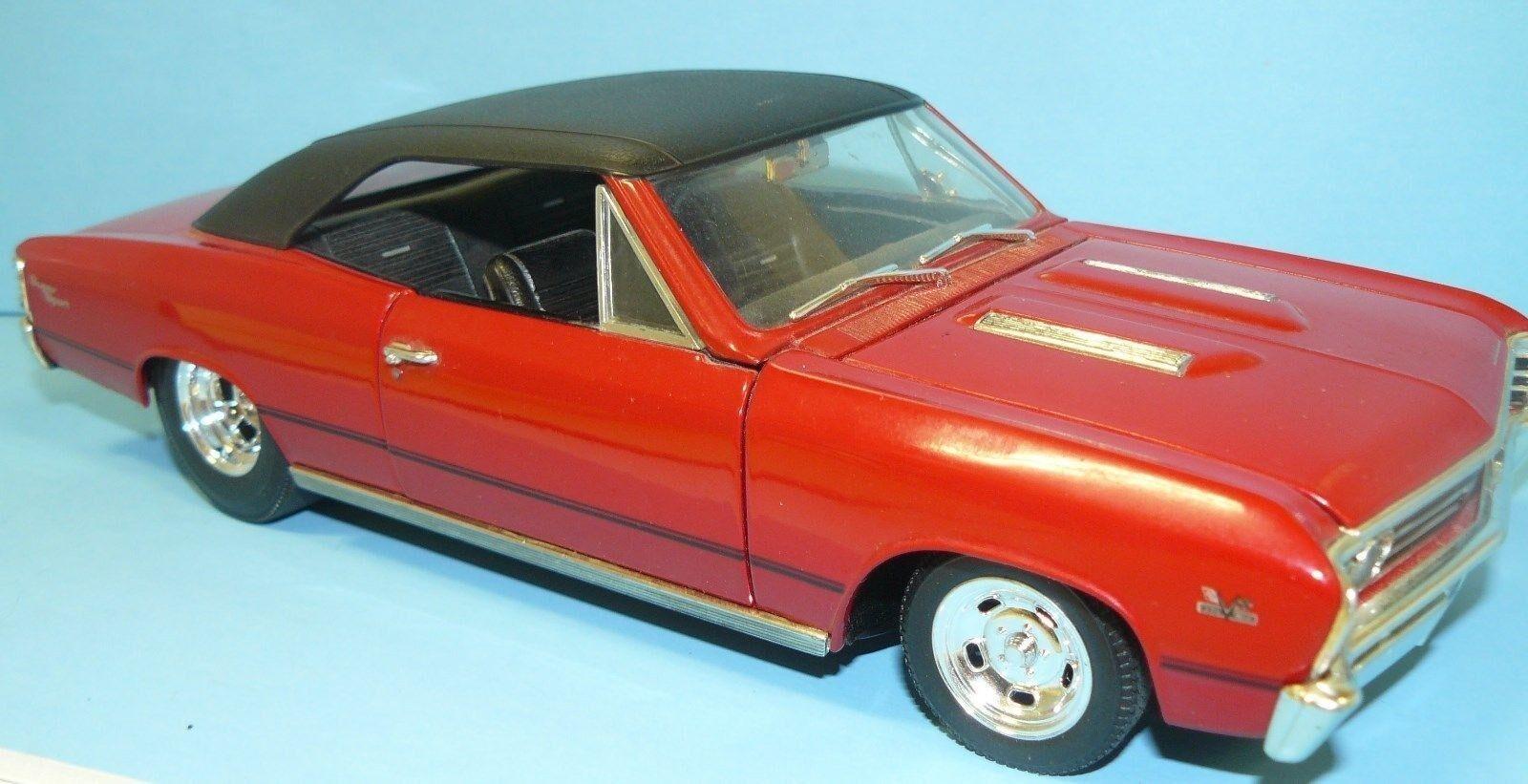 1 18 personalizado hecho Chevelle 1967  vieja escuela , A S,