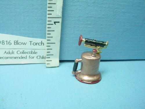 Sir Thomas Thumb 1//12th Scale Painted Metal Miniature Blow Torch #816