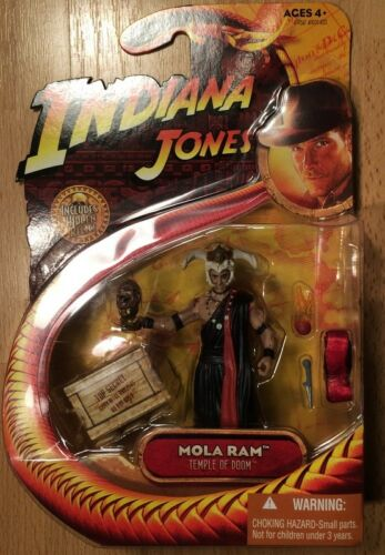 Hasbro Indiana Jones et le Temple Maudit Mola Ram 2008 MOC