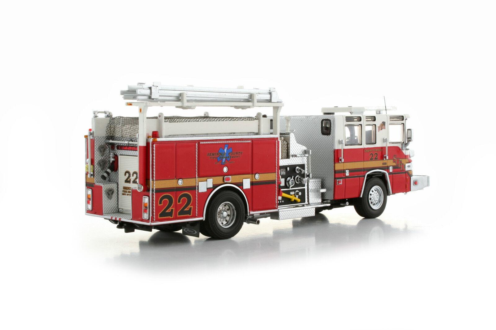 """Pierce Quantum Fire Engine Pumper /""""AIEA HONOLULU HAWAII/"""" 1//50 TWH #081D-01181"""
