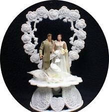 Wedding Cake Topper w/ Star War Han Solo Princess Leia Give you my Heart