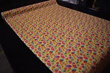 """Yellow Cupcakes Candy Print Quilt Fabric Apparel Craft Upholstery 45""""W #9975Y"""