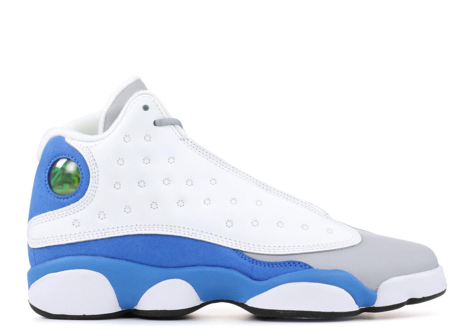 Nike Air Jordan 13 XIII Retro Italy Blue Size 8.5y. 439358-107 8.5