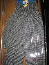 V Fly Fishing Cut Resistant Stainless Steel Filleting Glove Size Large/X Large