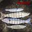 Salt-water-Realscale-trolling-lures-sea-fishing-tuna-bass-herring-mackerel-bait thumbnail 2