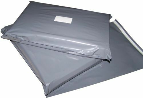 """5 x Strong 10 x 14/"""" Grey Postal Postage Mailing Bags 10x14/"""" *FREE P/&P!*"""
