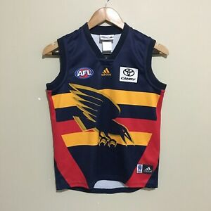 Adelaide-Crows-Adidas-AFL-Football-Guernsey-Jersey-Youth-Boys-12