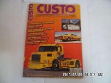 CUSTO MANIA N°50 07/1988 COCCINELLE CAMARO RS 68 CAMARO 350 WILLYS 41    K27