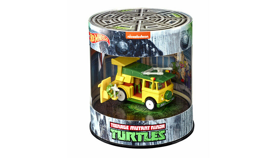 SDCC 2019 Exclusive Mattel Hot Wheels TMNT Party Wagon Vehicle