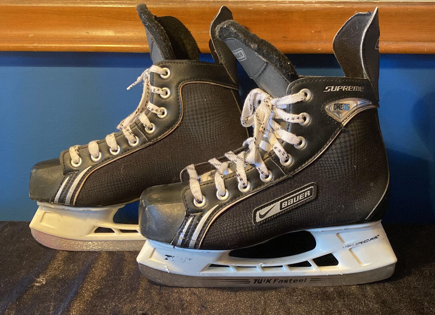 Espectador Persistente Supresión  Bauer Supreme One 05 Ice Hockey Skates for sale online | eBay