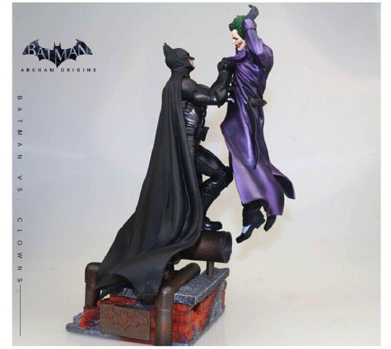 Batman Arkham Orgins Batman Vs Joker 32cm Altura Figura De Colección Sin Abrir