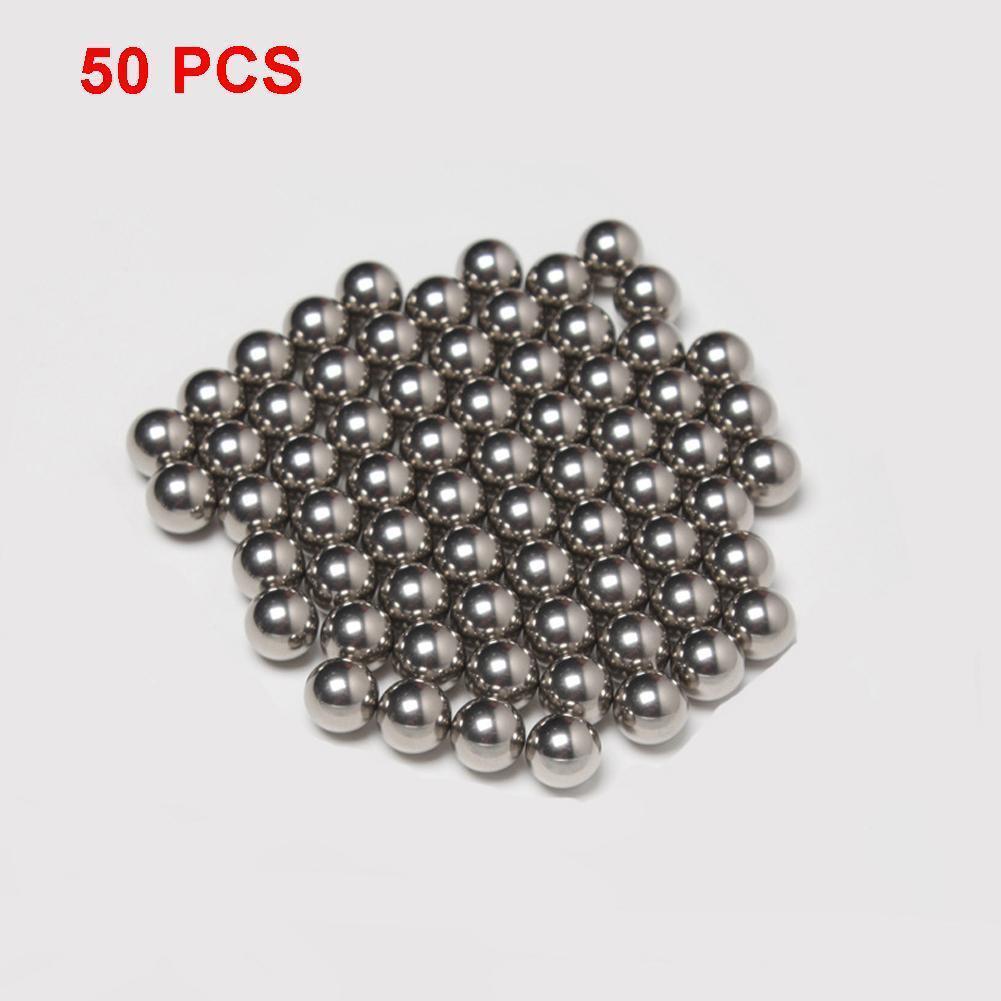 50pcs Replacement Parts 10mm Diameter Bike Carbon Steel Ball Bearing Cycling  BG