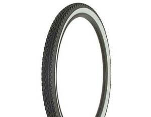 "Duro Heavy Duty Gray Bicycle Tire 26/"" x 2.125/"" Small Brick Style Classic Cruiser"