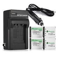 Np-45 Np-45a Li-on Battery + Charger For Fujifilm Finepix Xp10 Xp60 J10 J20 J100