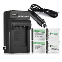 Np-45 Np-45a Li-on Battery + Charger For Fujifilm Finepix Xp10 Xp60 J10 J20 J100
