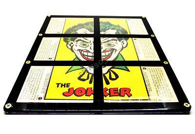Rare 1966 Batman National Periodical Batlaffs Joker Card Set In New Frame F.p! Batman Trading Cards