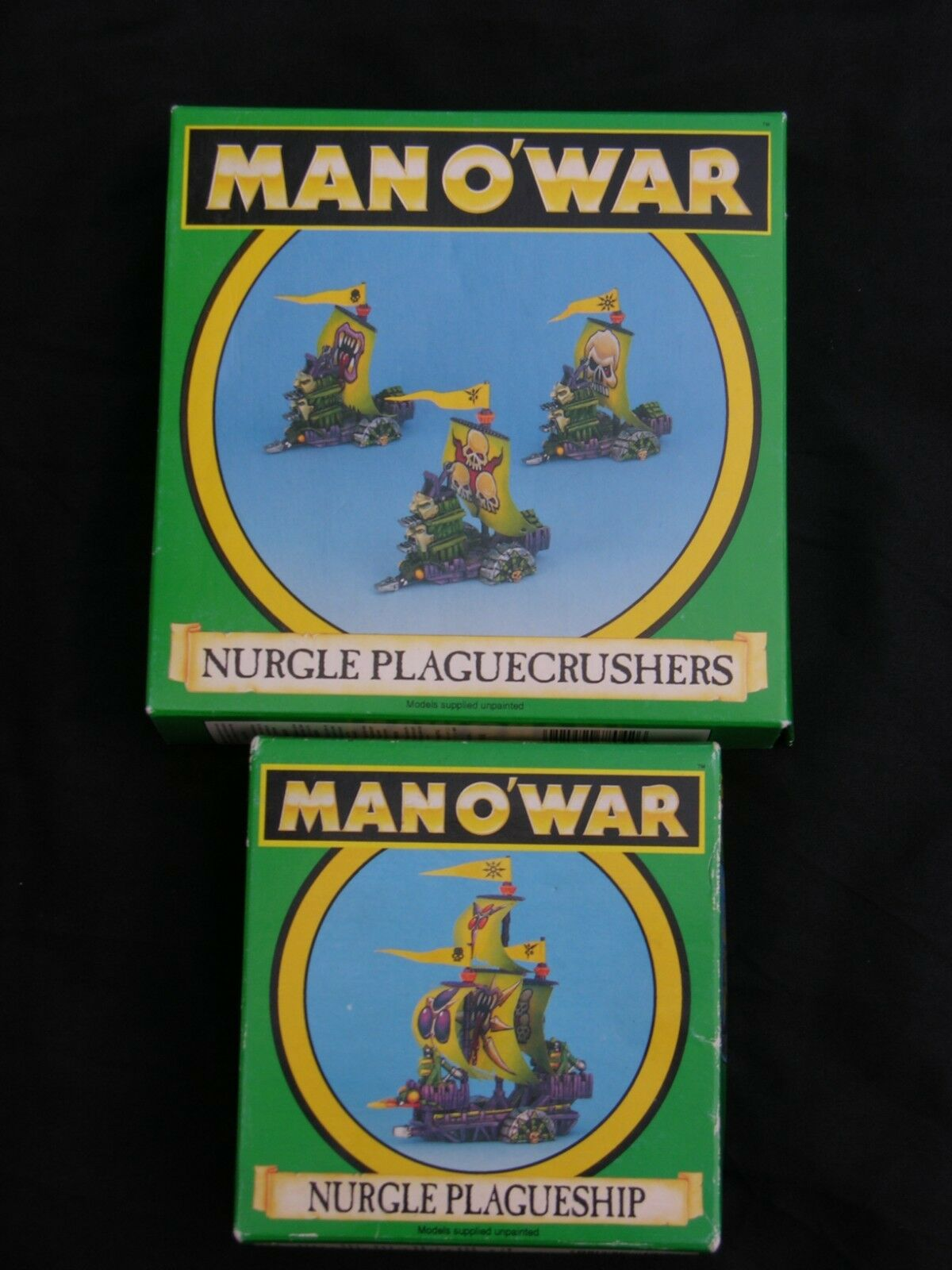 GAMES WORKSHOP MAN O WAR, NURGLE FLEET MULTI-LISTING